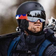 Зимний ветрозащитный Теплый Открытый Сноуборд Лыжный защитный шлем Защитная крышка