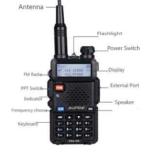 Image 4 - Baofeng DM 5R Tier1 Tier2 Digitale Walkie Talkie DMR Dual Band DM 5R Dual Zeit Slot Zwei Weg Radio DM5R Radio communicador