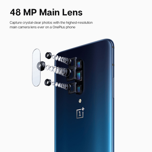 Image 4 - Смартфон OnePlus 7 Pro с глобальной прошивкой, камера 48 МП Snapdragon 855, 6,67 дюйма, 2K + жидкий AMOLED экран, разблокировка UFS 3,0