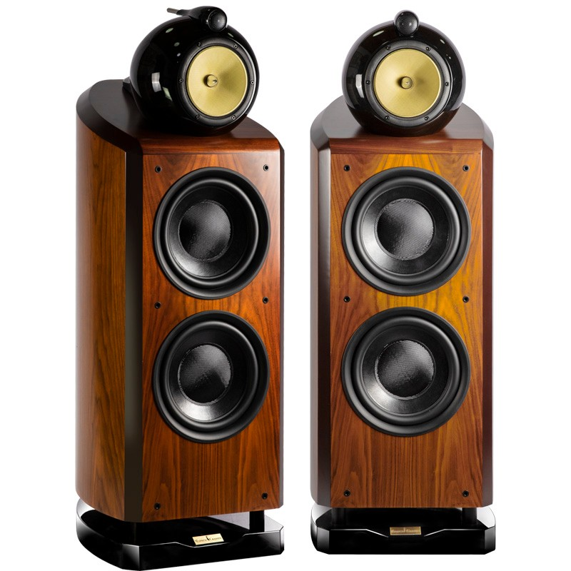 Three Way 4 Unit Double 10 Inch Woofer Hifi Speaker Hi-end Floor Speaker Large Home Theater System (pair) 1