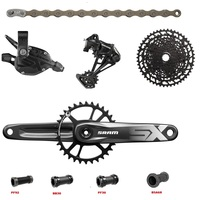 2019 NEW SRAM SX EAGLE 1x12 11 50T 12 speed Groupset Kit DUB Trigger Shifter Derailleur Chain Crankset with NX EAGLE Cassette