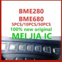 5 個 10 個 50 個 100% 新オリジナル BME280 BME280 BME680 bme 680 ic センサー圧力湿度温度