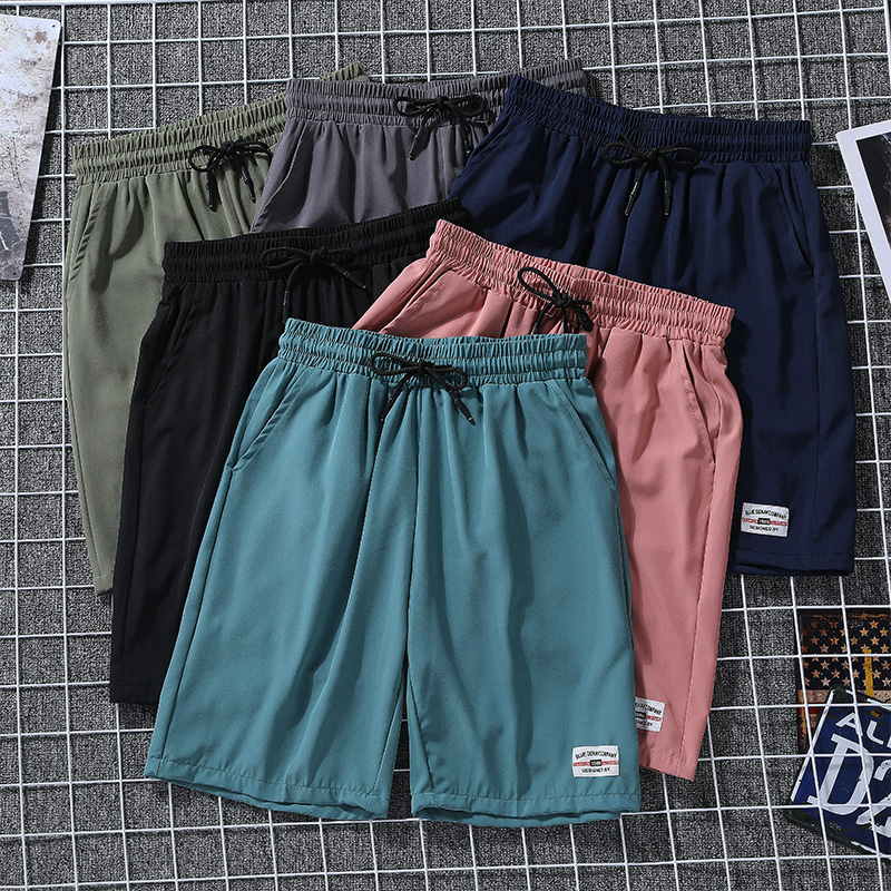 Summer Men Sporting Beaching Shorts Bodybuilding Summer Breathable Running Shorts Gym Basketball Sweat Shorts Hot Short Pants