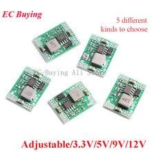 Mini DC-DC step down power module 3a mp1584 para arduino 3.3v 5v 9v 12v conversor buck ajustável saída fixa lm2596