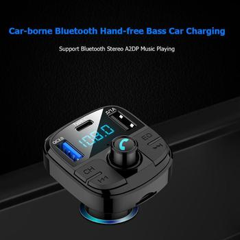 Car Radio Handsfree Autoradio Recorder Auto Hand-free Phone MP3 Player USB Charger FM Transmitter Bluetooth Kit Car Accessories image