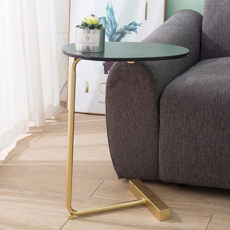 Nordic Brief Small Table Modern Furniture  Iron Art Tea Table For Living Room Simple Coffee Side Tables Coffee Table Books