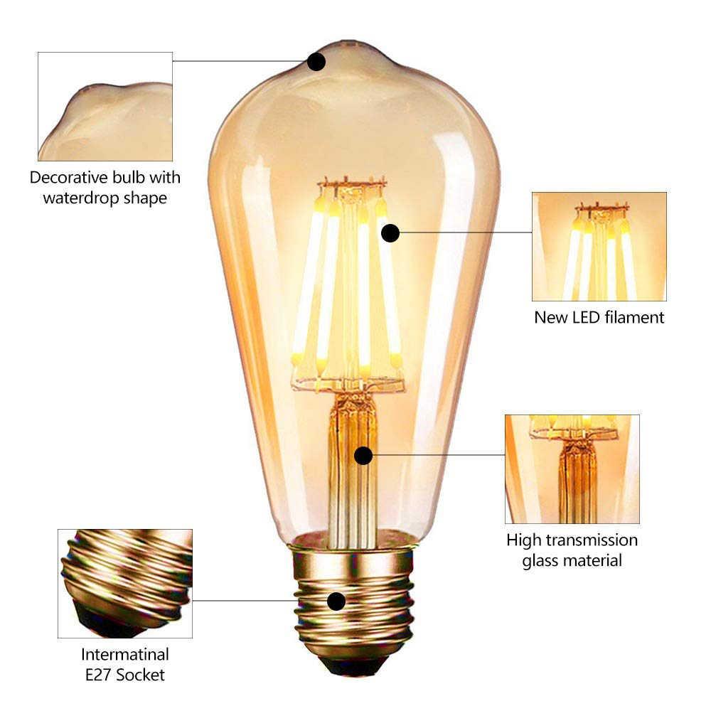 Vintage endüstriyel duvar aplik ışıkları Wandlamp Retro duvar lambası 110V-220V E27/E26 kapalı yatak odası banyo balkon Bar koridor lambası