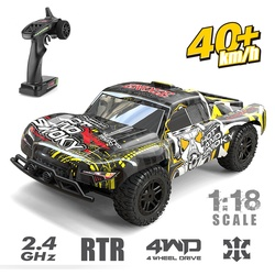 1:18 4WD RC Car Kids Gift 40+MPH High Speed Remote Controlled Car All Terrain Vehicle Toys