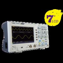 Owon sds1102 osciloscópio digital, osciloscópio digital de armazenamento com 2 canais de 7