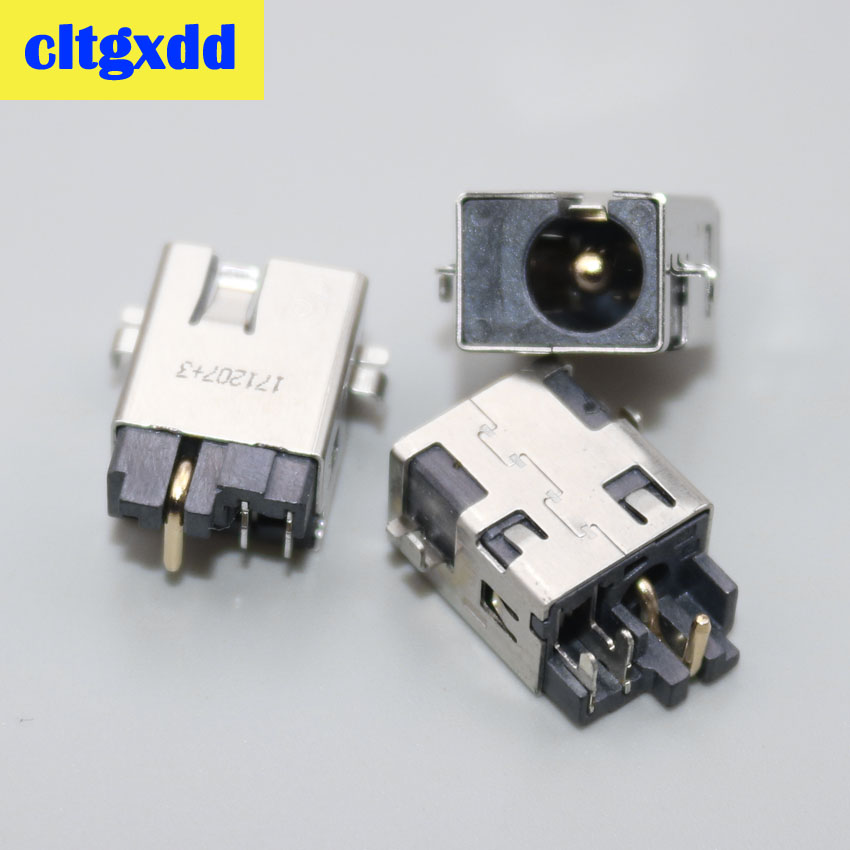cltgxdd 2pcs DC power cable charging port jack connector For <font><b>Asus</b></font> K501U K501UB K501UQ <font><b>K501UX</b></font> K501UW V301L V301LA X555LN X555L image