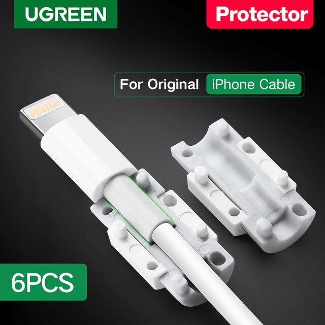 Ugreenケーブルプロテクターiphoneの充電器保護ケーブルusbコードセーバー咬傷usbケーブルchompers iphoneケーブルプロテクター