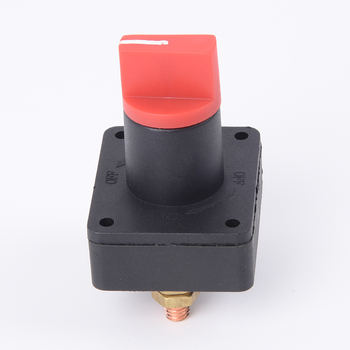 Wide Range Battery Isolator Disconnect Kill Selector Switch For Boats & Cars image