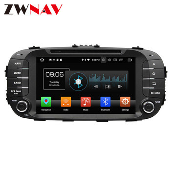 Android 9.0 4+64G PX6 For Kia SOUL 2014 2015 2016 2017 2018 IPS HD Screen Radio Car Multimedia Player GPS Navigation Audio Video car gps navigation 10 25 inch ips screen android 8 1 px6 six core for bmw 5 series g30 2018 evo system auto multimedia player