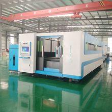 CNC весь покрытие лазерный металлорежущий станок лист газорезательная машина для толстолистового металла 4000 Вт 3000 1500 мм
