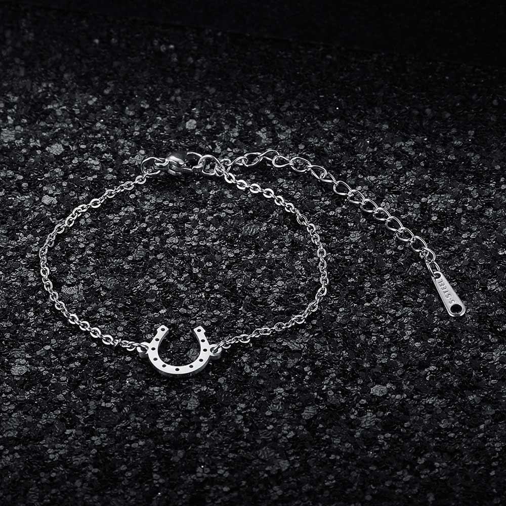 Качественный Женский сказочный браслет AAAAA из нержавеющей стали 100%, браслет с подвесками