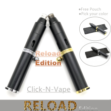 Click N Vape Hit Pen Kit Pipe Reload Edition Sneak A Toke With Torch Butane Lighter For Dry Herb Vaporizer