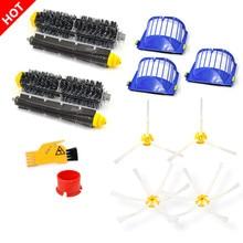 Запчасти для пылесоса iRobot Roomba, основная щетка, боковая щетка, воздушный фильтр HEPA 600 690 620 630 650 660 671 680 605 621 631
