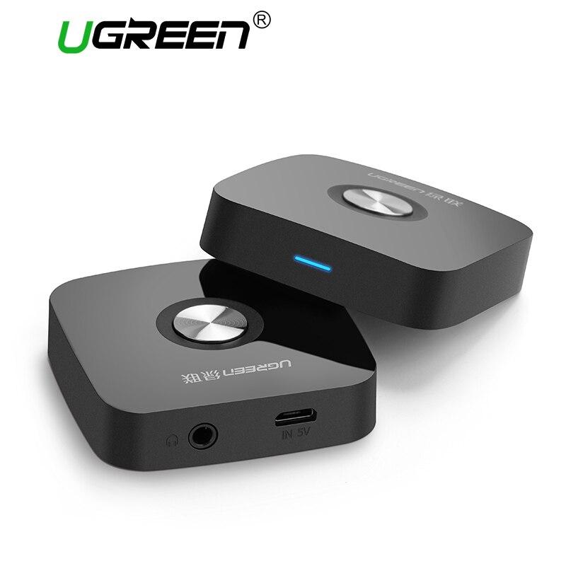 Ugreen 5.0 receptor Sem Fio Bluetooth Receptor 3.5 MILÍMETROS Aux de Áudio Estéreo Receptor de Música do Bluetooth Receptor Adaptador de Áudio Aux Carro