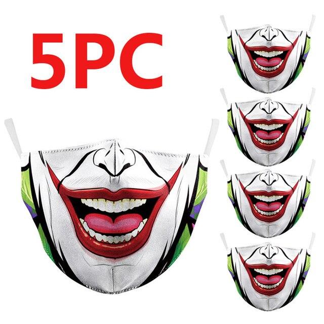 PM2.5 Washable Mouth Mask Women Men Anti Haze Dust Mask Nose Filter Face Muffle Bacteria Flu Respirator 2
