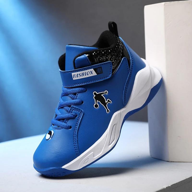 Newest Basketball Shoes Kids Jordan Shoes Kids Sneakers Jordan Retro 4 Non-slip Sports Shoes Boys Outdoor Boy Trainer Basket