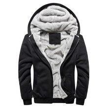 Fashion Bomber Mens Vintage Thickening Fleece Jacket Autumn Winter Designer Famous Brand Male Slim Fit Warm Coat