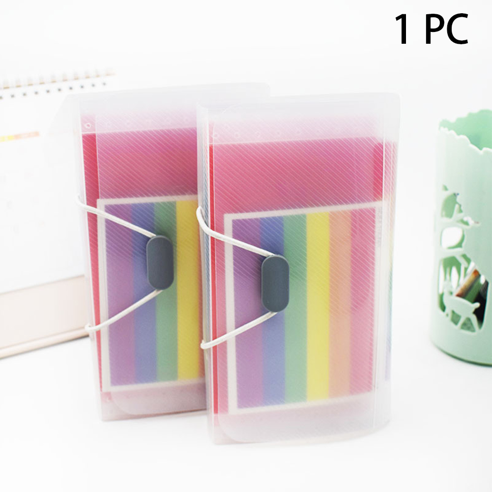 Business Multi Layer A6 Invoice Receipt Wallet Student Folder Office Document Storage Expandable File Organizer Accordion Type