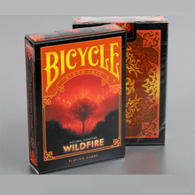 Bicycle Natural Disasters Wildfire Playing Cards Collectable Poker USPCC Limited Edition Deck Magic Tricks Props