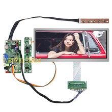 Pantalla LCD IPS Pro de 10,3 pulgadas, barra estirada de 1920x720, pantalla LCD ultraancho de 50 pines, placa controladora LVDS VGA HDMI para coche