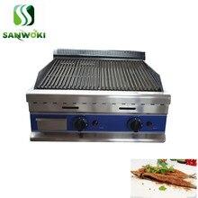Cabeça de casal smokless Grill elétrico Lava Rock pedra máquina torrador forno grelhar churrasco máquina de carne forno kebab de Cordeiro
