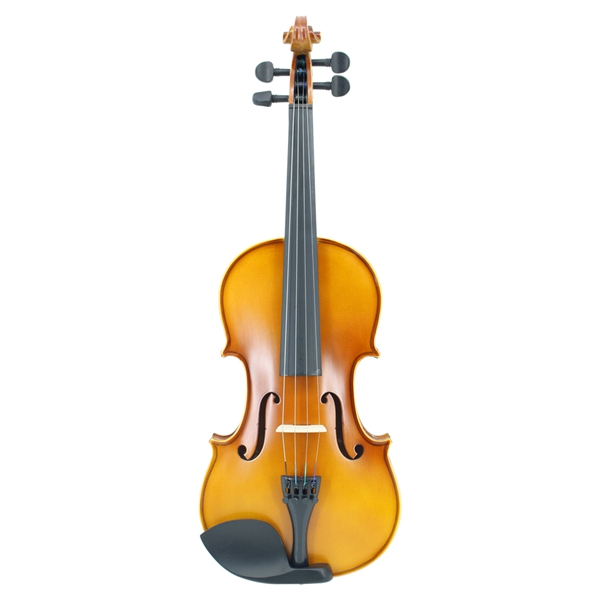 Violin Handmade Matte Acoustic Maple Violin Full Size Beginner Violin with Case Bow Rosin Mute Strings image