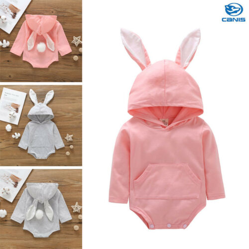 Easter Baby Infant Girl Boy Kids Clothes Outfits Long Sleeve Romper Jumpsuit New Autumn Winter