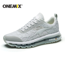 ONEMIX Hot Outdoor Sport Shoes Air Cushion Running Shoes Men's Athletic Shoes Trainer Sport Shoes women Sneakers Plus Size