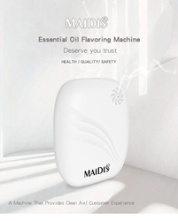Hygiene scent aroma intelligent time control  essential oil aroma diffuser for Home Hotel Office