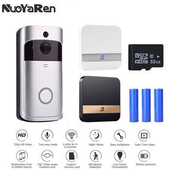 Smart IP WIFI Doorbell Video Intercom WI-FI Door Phone Door Bell  For Apartments IR Alarm Wireless Security Camera 1