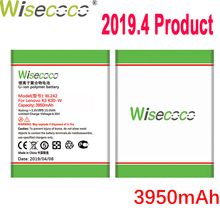 WISECOCO 3950mAh BL242 Battery For Lenovo K3 K30-W K30-T A6000 A3860 A3580 A3900 A6010 A6010 Plus Mobile Phone+Tracking Number стоимость