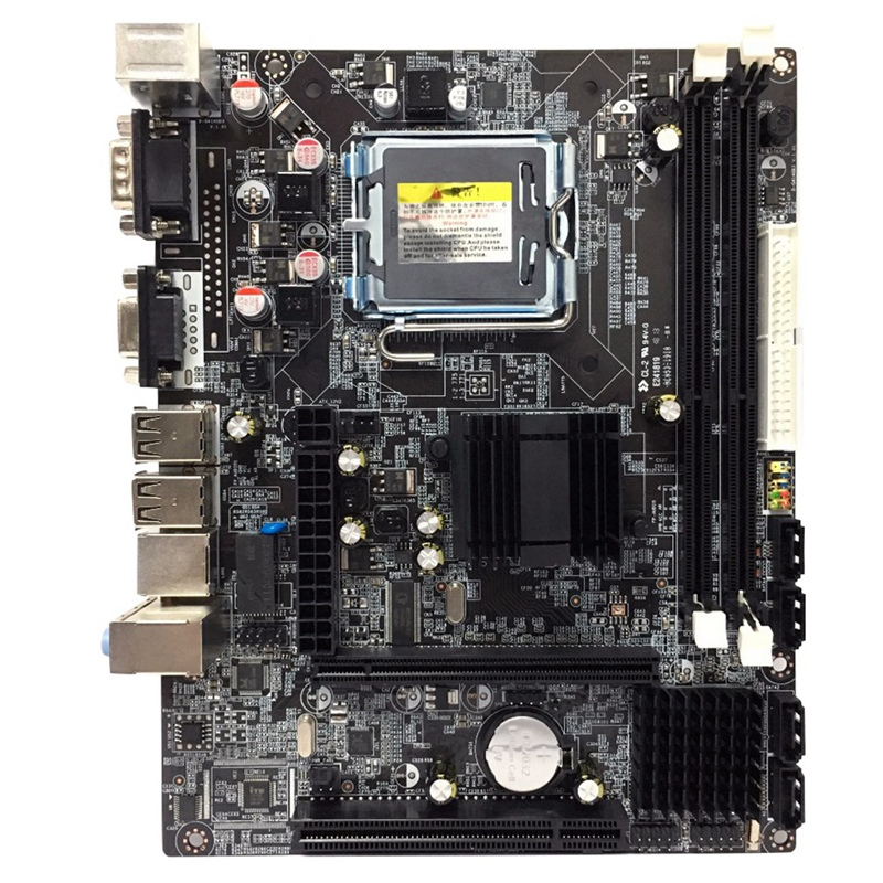 G41 Lga775 Desktop Motherboard For Intel Chipset Ddr3 Double Usb 2.0 Lga 775 Mainboard For Computer Pc