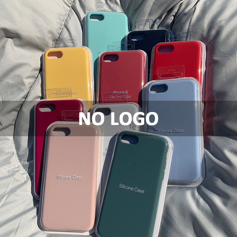 <font><b>Original</b></font> liquid <font><b>silicone</b></font> Phone <font><b>Case</b></font> For <font><b>iPhone</b></font> 7 8 Plus 6 6s <font><b>Case</b></font> For Apple <font><b>iPhone</b></font> 11 Pro XR <font><b>X</b></font> XS SE 2020 Back Full Cover Luxury image