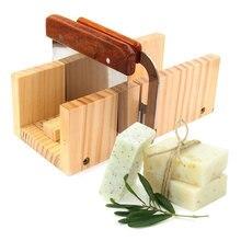 Многофункциональная Регулируемая деревянная форма для мыла ручной работы, форма для ножей для хлеба с 2 волнами и прямыми инструментами для...