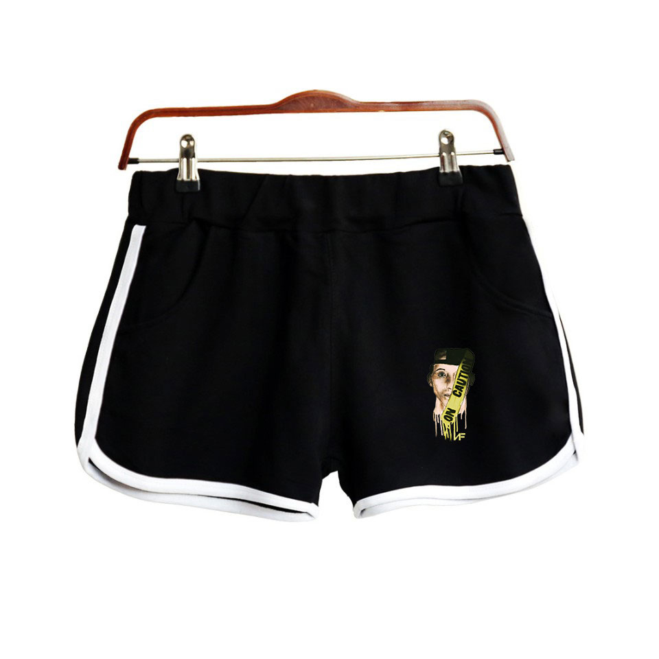 HipHop Rapper Nate Feuerstein New Album The Search NF Print Women Shorts Clothes Harajuku Ladies Hot Sale Sexy Kawaii Shorts
