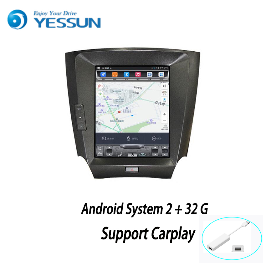YESSUN For <font><b>Lexus</b></font> <font><b>IS</b></font> 240 / <font><b>250</b></font> / 350 2005-2011 Android Car Navigation GPS HD Touch Screen Car Stereo Player Multimedia Audio image