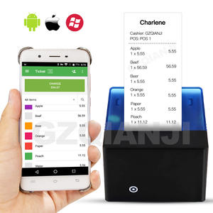 Thermal-Printer Bluetooth POS Android Mini 58mm Ios