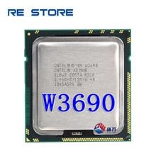 Intel xeon w3690 3.4ghz processador cpu de seis núcleos 12m 130w lga 1366