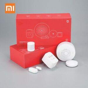 Image 2 - Original Xiaomi Mijiart Home Kit Infrared Human Body Sensor New Gateway Door Window Sensor Wireless Switch ZigBee Socket 5 in 1