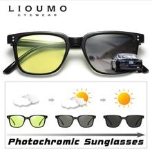Brand Designer Photochromic Sunglasses Men Polarized Day Nig