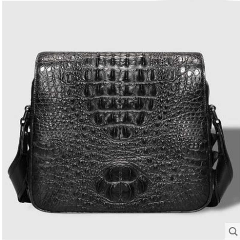 cestbeau men crocodile skin single shoulder men handbag men bag The leisure business The new 2018