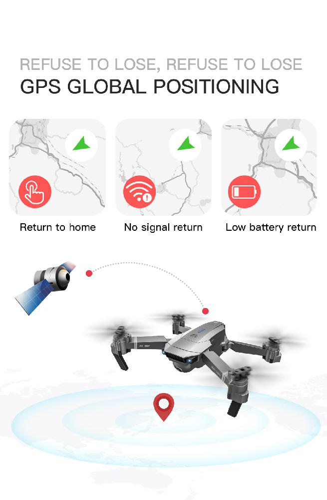 RCtown SG907 gps Дрон с камерой 4K 5G Wifi RC Квадрокоптер оптический поток складной мини Дрон 1080P HD камера Дрон - 5