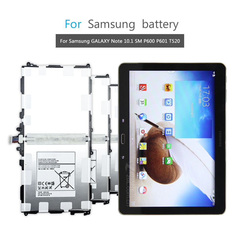 New Battery For Samsung Galaxy Note 10.1 2014 Edition SM