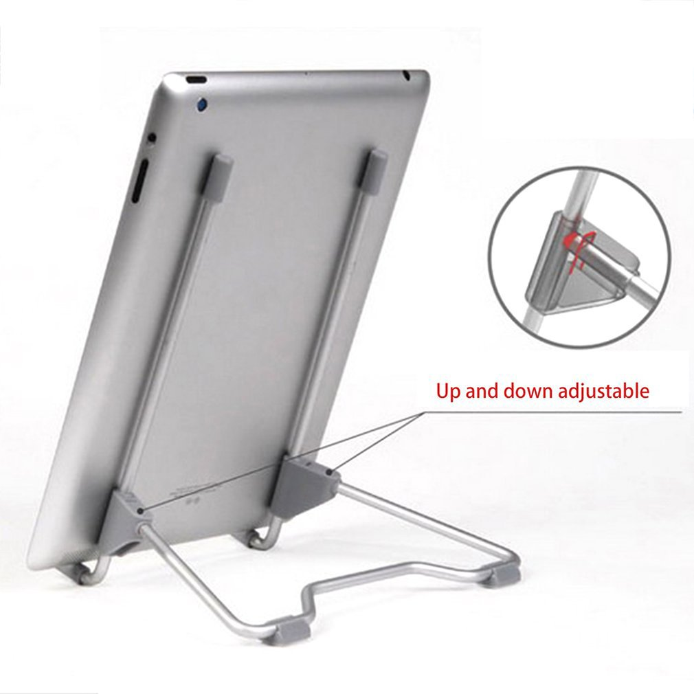 Multifunctional Folding Portable Tablet PC Laptop Stand Universal Adjustable Desktop Computer Support Bracket Aluminum Alloy
