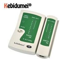 Testador de cabo de rede rj45 rj11 rj12, testador de cabo de rede profissional cat5 utp lan, ferramentas de teste remoto