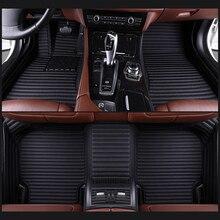 цена на Custom fit car floor mats for Skoda KAMIQ Kodiaq GT Octavia Superb Yeti Fabia spaceback 3D heavy duty car styling carpet floor